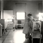 Infant Research Laboratory financed by The 25 Club in 1957
