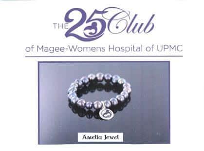 bracelet for 25 Club