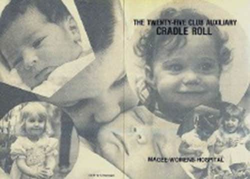 The Magee Cradle Roll was established in 1957