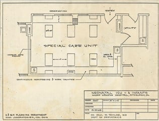 Neonatal Intensive Care floor plan